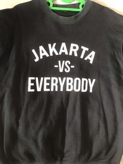 Crewneck Jakarta vs Everybody