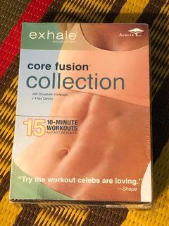 Exhale core fusion collection three DVD set new and sealed