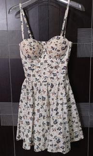 Flower dress  pinggang karet
