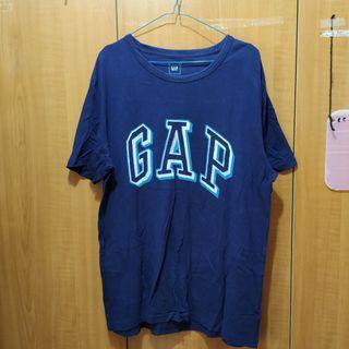 GAP 深藍短袖T恤