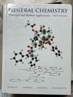 general chemistry textbook + solution manual