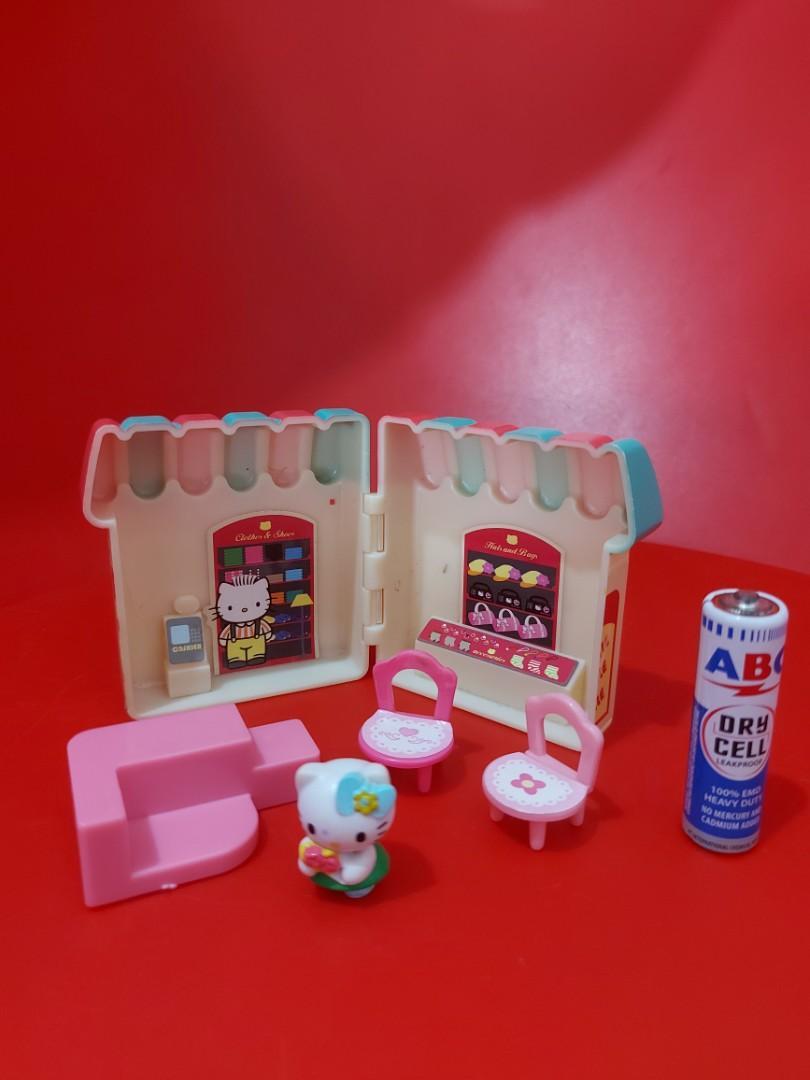 Hellokitty miniatur play set