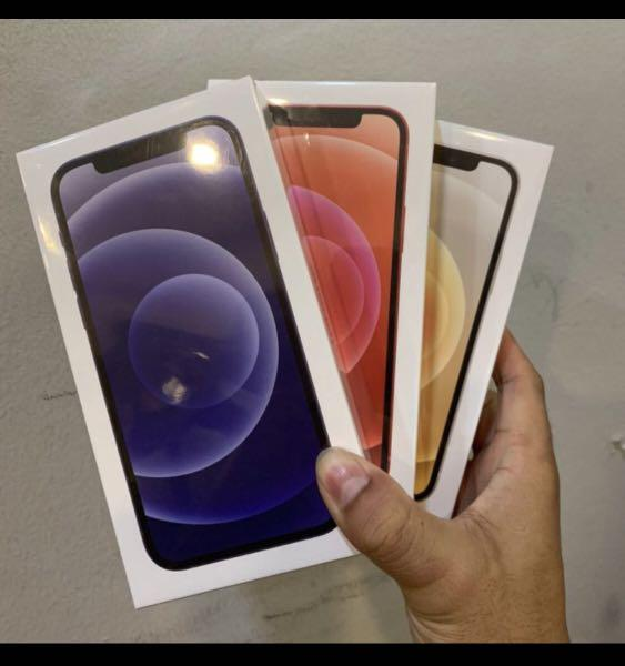 iPhone 12 Mini 64GB Putih New Resmi Internasional BNIB