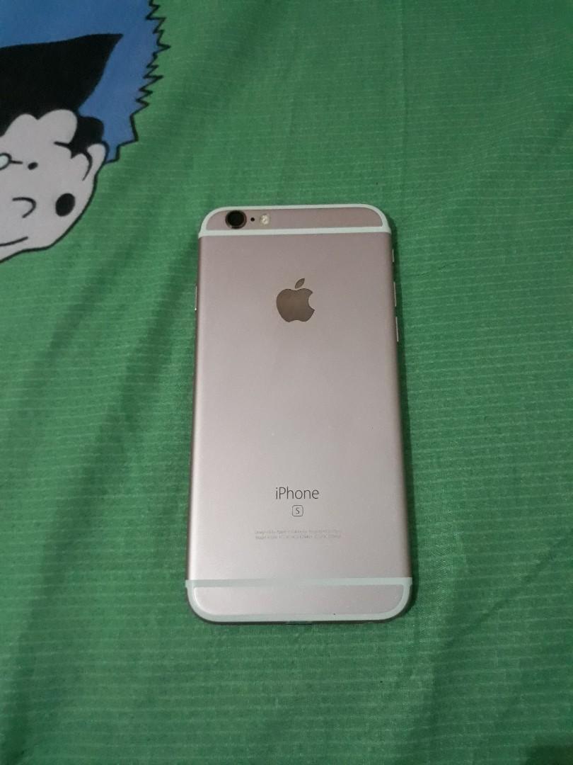 iphone 6s rosegold 64gb ex intern