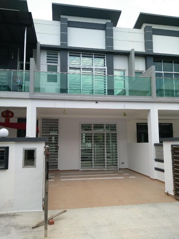 KAJANG BANGI NEW DOUBLE STOREY 0% DOWNPAYMENT 22X70 GATED & GUARDED