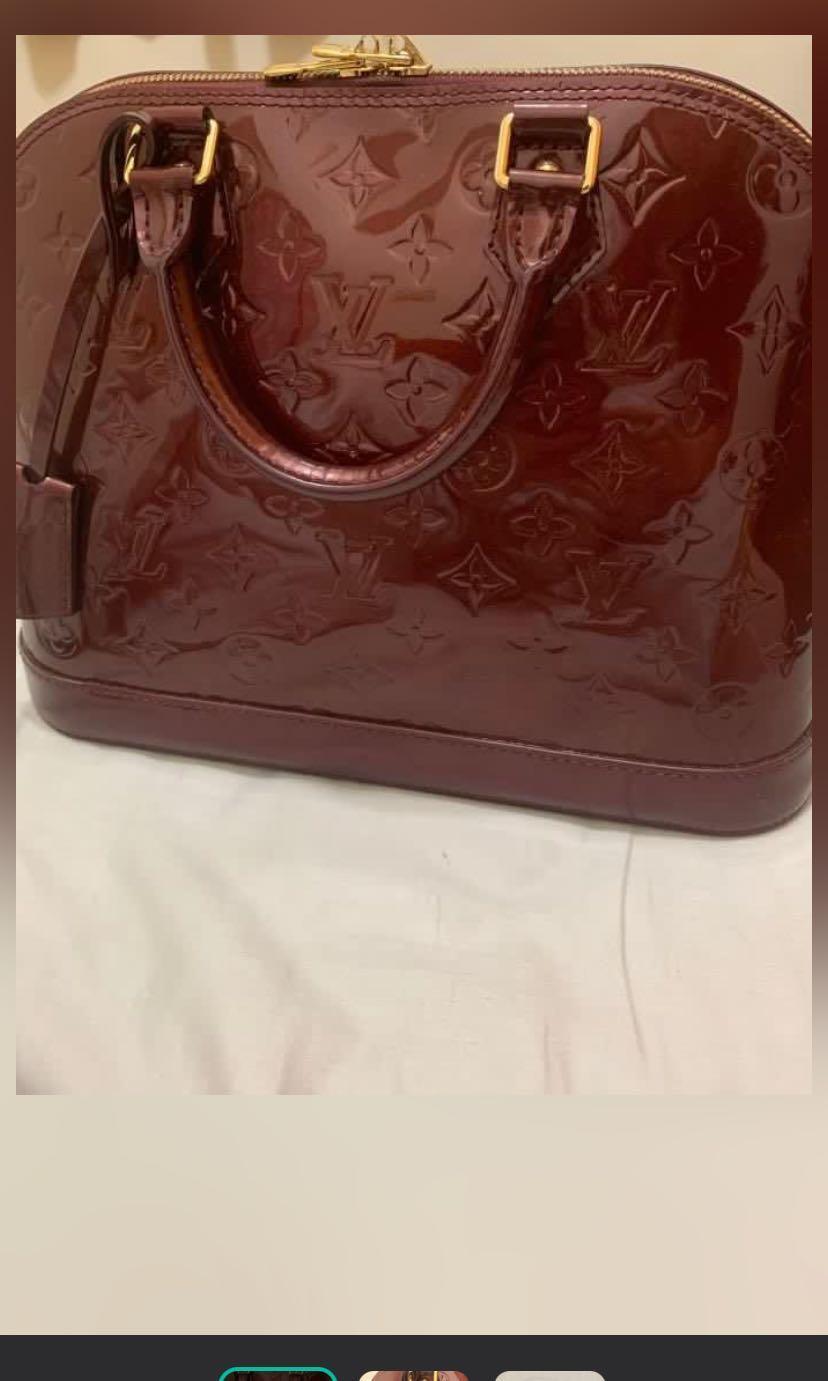 LV漆皮包包