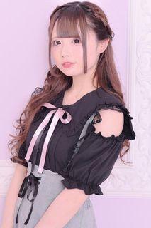 MA*RS 挖肩水手領黑色襯衫 #量產型 #地雷系 #日系