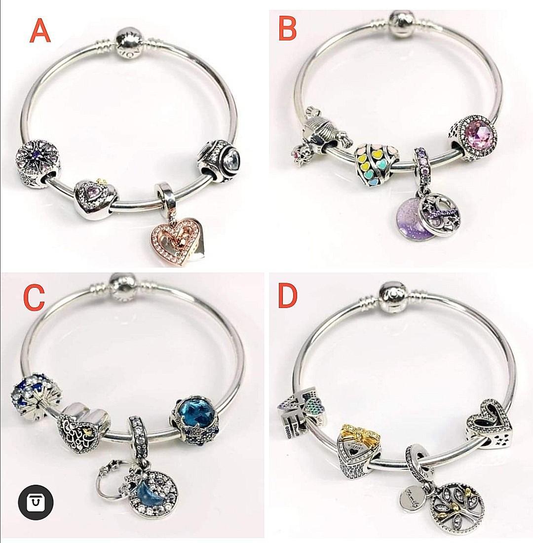 Mother S Day Promo Pandora Bracelet Women S Fashion Jewelry Organizers Bracelets On Carousell
