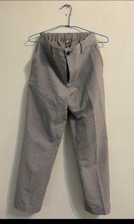 無印良品泡泡紗長褲 特殊布料muji