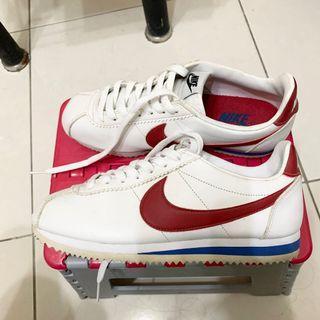 Nike紅藍阿甘鞋 24.5 無盒