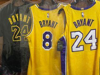 NIKE NBA AU KOBE BRYANT 湖人 主場黃 球員版 球衣