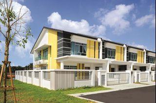 NILAI DOUBLE STOREY 22X85 SUPERLINK HOUSE FREEHOLD, GATED & GUARDED CASHBACK