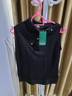 point one top inner hitam