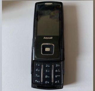Samsung Anycall 手機  #prepfordad