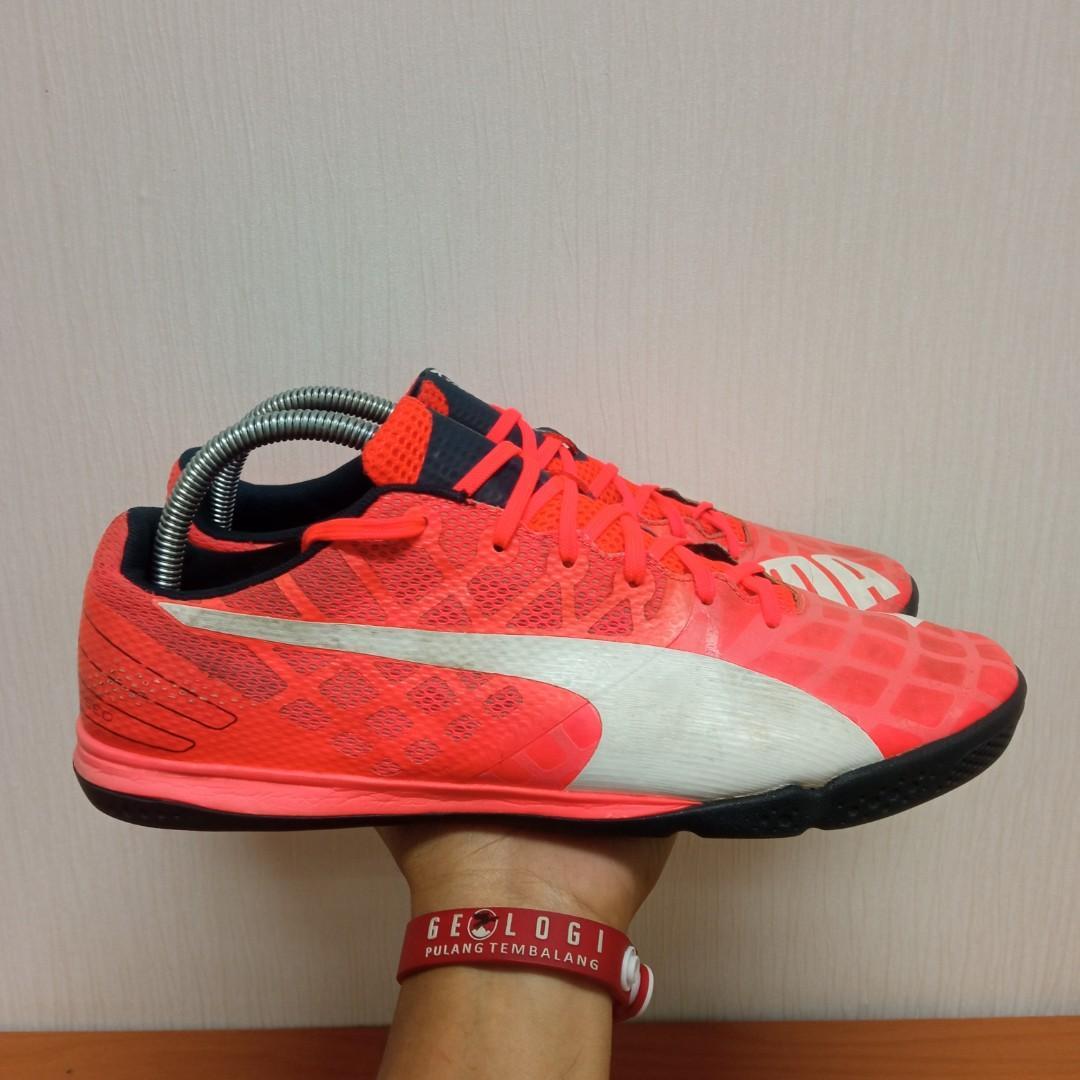 Sepatu Futsal Puma EvoSpeed  sala 3.4 size 44,5 fit 44insole 29cm