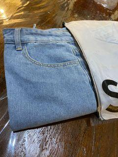 SHEIN JEANS (Mailing Poly M included) (Sz OXL)
