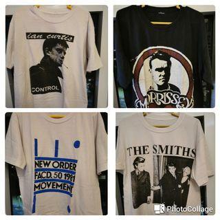 Shirts - band, skate, pop