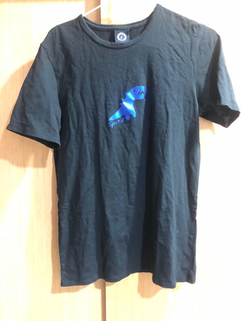 Sport b. 小恐龍黑色S號 t恤 tshirt 上衣