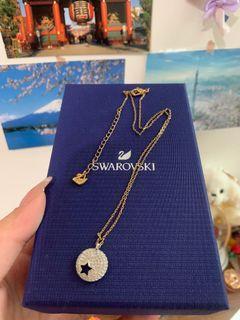 SWAROVSKI 星星月亮項鍊 #防疫
