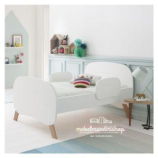 Tempat Tidur Anak Warna Putih (custom)