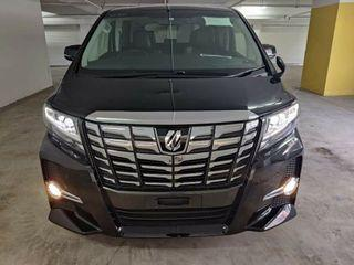Toyota Alphard 2.5 S C Full Spec With Many Acc ( 2017 ~ 2020)