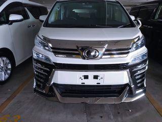 Toyota Vellfire 2.5 ZG Full Spec  With Many Acc