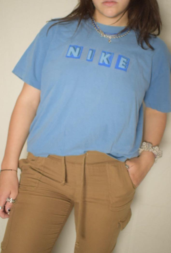 Vintage Nike Baby Blue tee