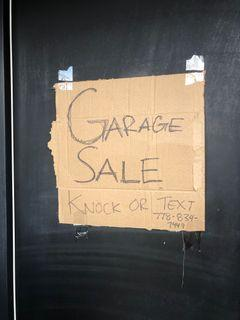 Virtual Garage Sale - from $0.50 up to $25 per item