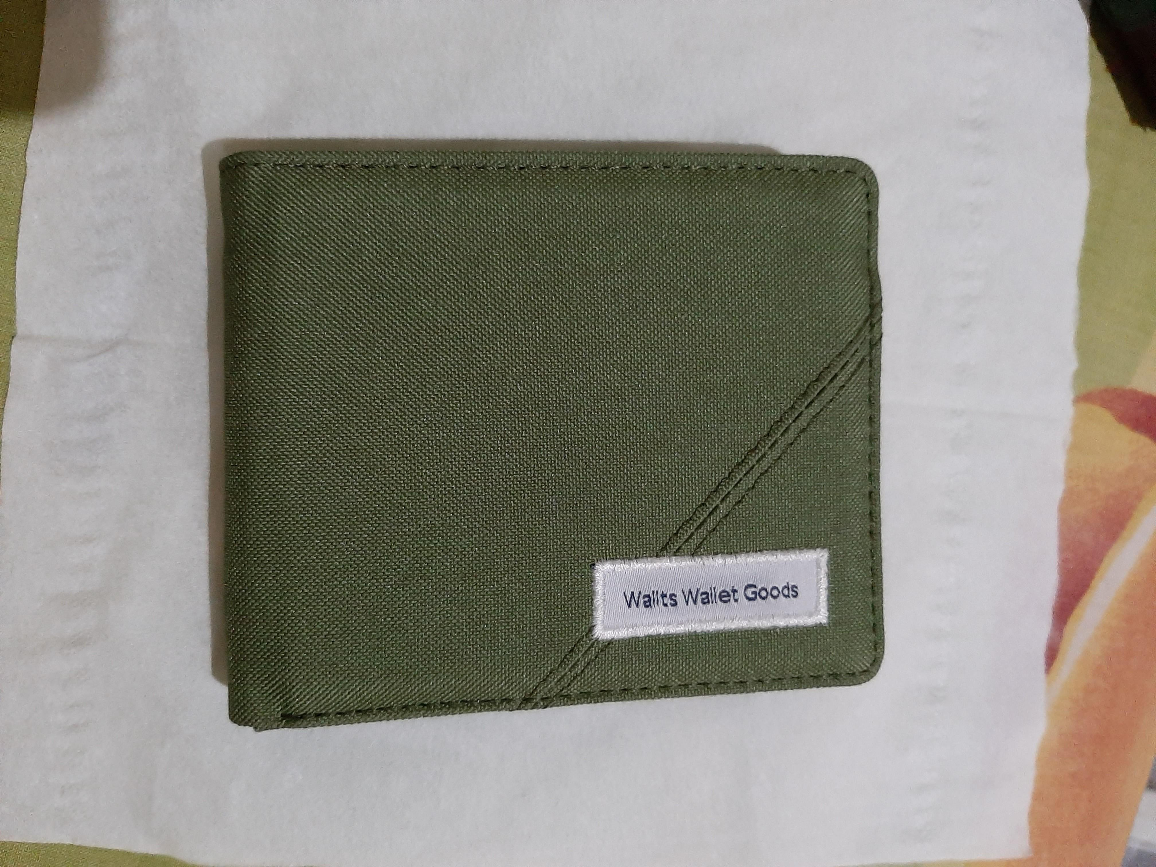 Wallts wallet goods dompet pria warna army