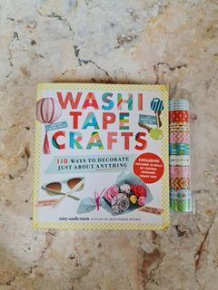 Washi Tape Crafts by Amy Anderson (Book)