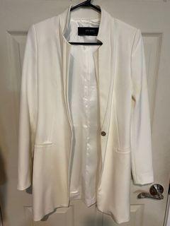 Zara White Women's Suit
