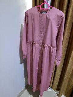 zysku xena pink tunic preloved