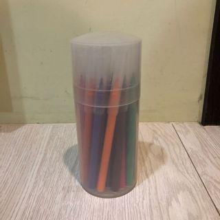 無印良品24色水性筆免費送/原價三四百