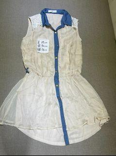 氣質白色洋裝