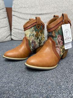 (新品)秋冬咖啡色短靴
