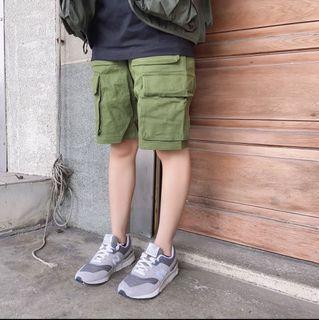 🍡全新🍡軍綠色工裝褲