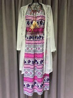 全新❤️罩衫+洋裝