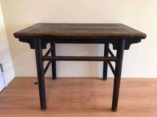 清 陝西 櫸木 案桌 Qing Dynasty Shanxi Beech Desk
