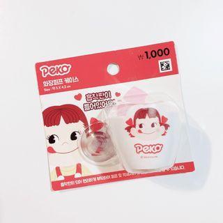 小雜物   韓國 PEKO 不二家 美妝蛋 收納 美妝蛋架 紅色 收納盒