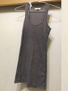[二手] forever 21 XXI 灰色背心 grey vest