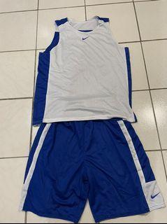 藍白雙面籃球服 XL