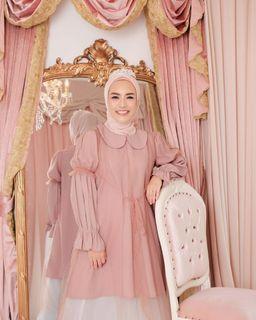 Adelline Blouse by Vanilla Hijab
