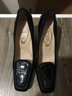 AUTHENTIC TOD'S black office shoes