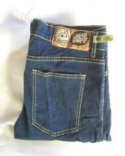 Cheap Monday Indigo Jeans Denim non Selvedge Second Preloved Bekas Thrift