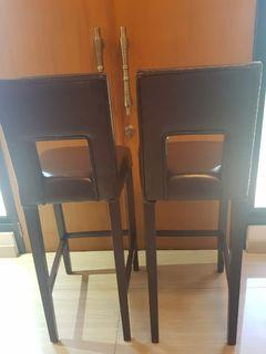 Kursi Tinggi Bar Stool High Chair Cokelat