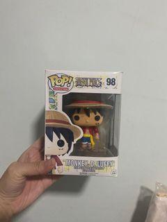 Luffy Collectable Pop animation