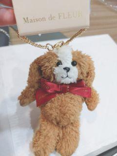 Maisondefleur 貴賓狗 吊飾