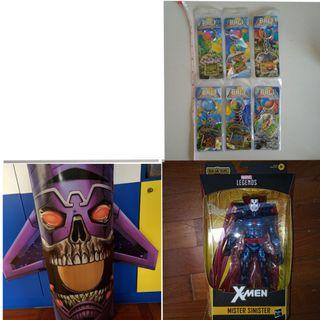 Marvel legends mr mister sinister thanos imperative box bali indonesia key chain souvenirs