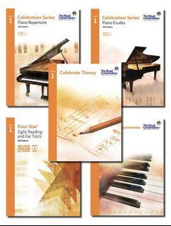 NEW RCM Celebration Series Level 1 Set Piano royal conservatory