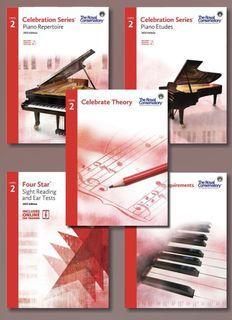 NEW RCM Celebration Series Level 2 Set Piano royal conservatory